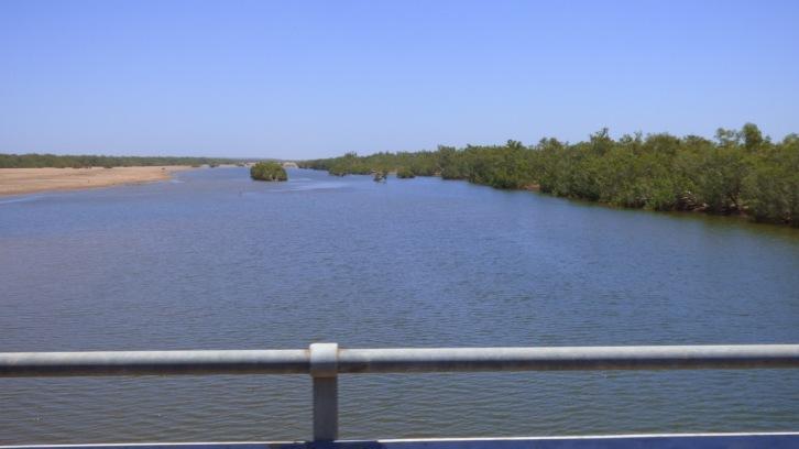 Water in the De Grey River