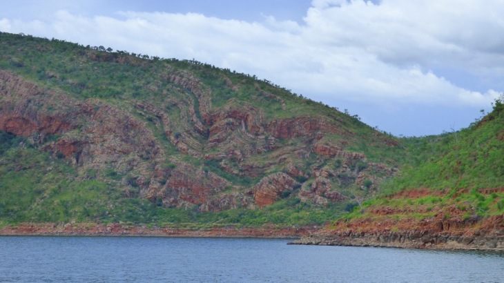 Rock Formations, Lake Argyle
