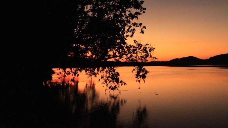 Sunrise over Lake Kununurra
