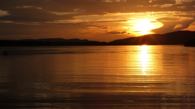 Sunset on Lake Kununurra