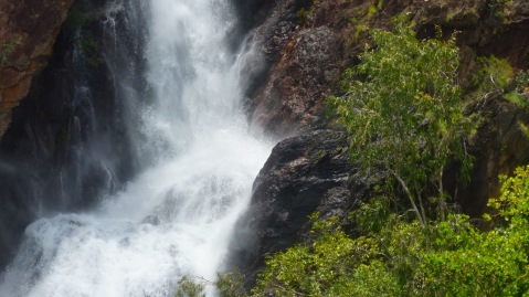 Lots of water - Wangi Falls