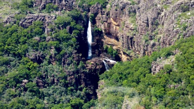 An unnamed waterfall