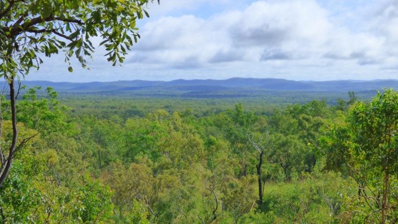 View back across Kakadu