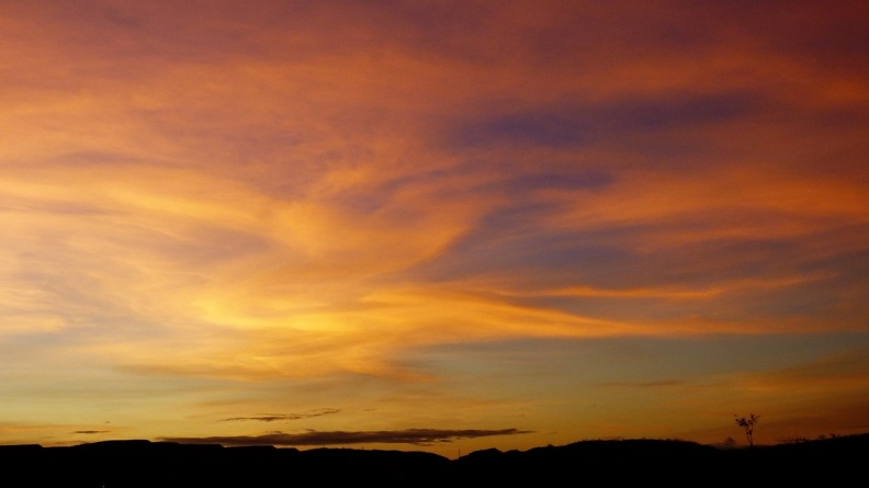 Sunset in Mount Isa
