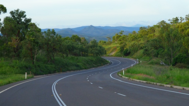 The Great Diving Range, jus south of Townsville
