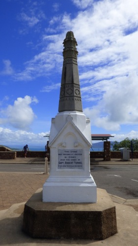 The Robert Towns memorial stone