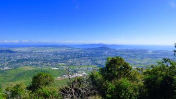 Townsville from the lookout atop Mount Stuart