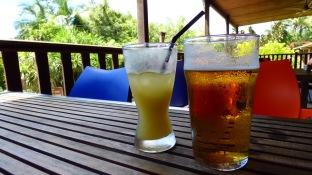 A nice cool drink at Kuranda Hotel