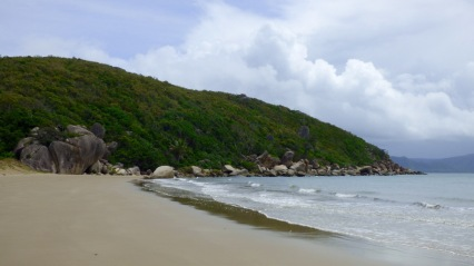 Finch Bay, looking north