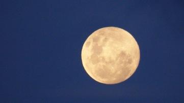 The Moon saying hello