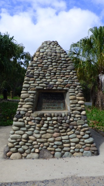 Cook's Cairn in 1770