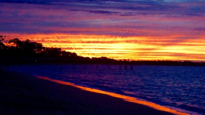 Sunset, Hervey Bay, Queensland