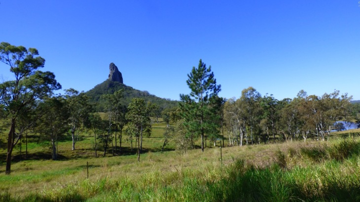 Mt Coonowrin, just one of the Glasshouse Mountains