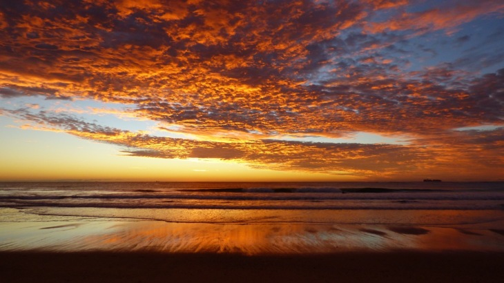 Sunrise June 11, 2016 - Dicky Beach, Queensland