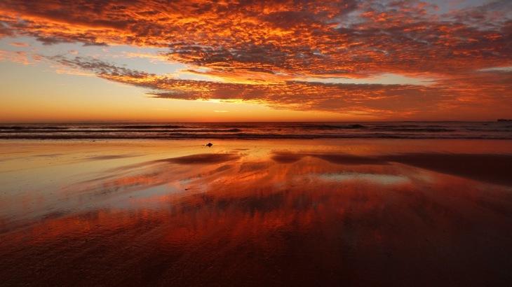 Sunrise, Dicky Beach