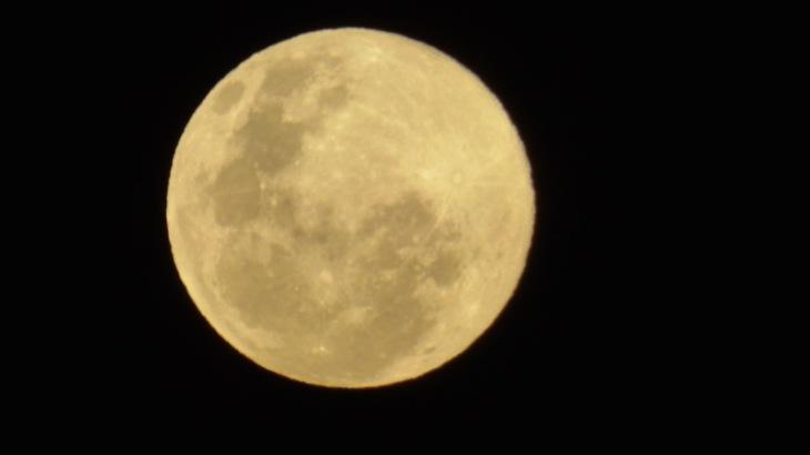 Winter Solstice Moon, photographed June 20, 2016