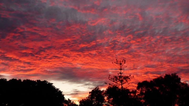 Sunset, Dicky Beach