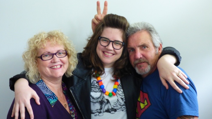 Dean and I with our youngest daughter Melissa