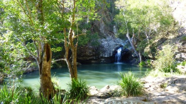 The largest rock pool