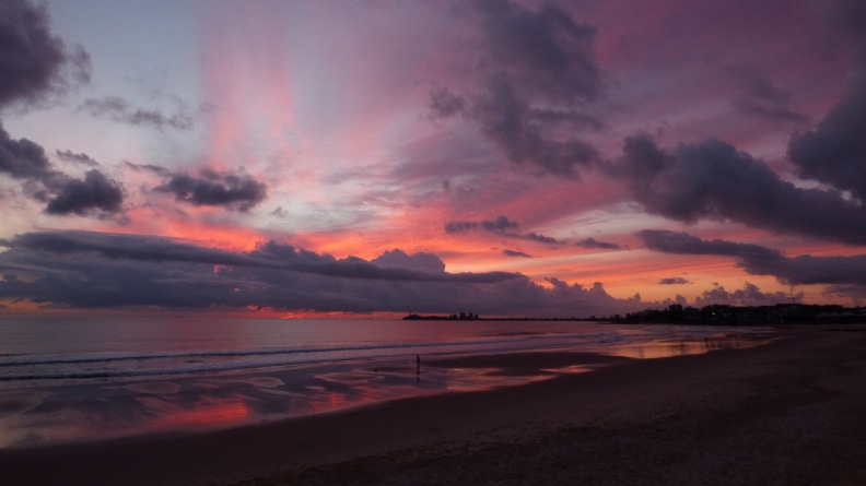 Sunrise Alexandra Beach (October 20, 2016)