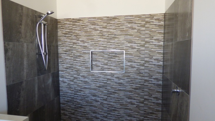 Feature wall - Ensuite