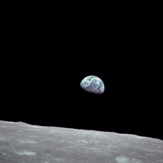 Captured by Bill Anders, Apollo 8 crewmember, December 24, 1968.